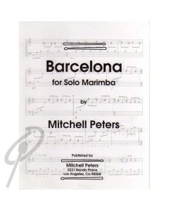Barcelona - for Solo Marimba