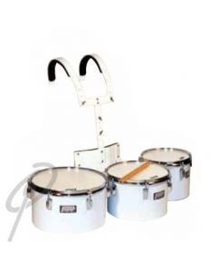 Powerbeat Triple Tenor Toms - 8, 10, 12inch with Harness