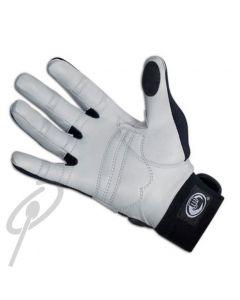 Pro Mark Drum Gloves Leather Grey/Blk- S