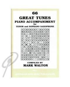66 Great tunes for Tenor Sax Piano Accom