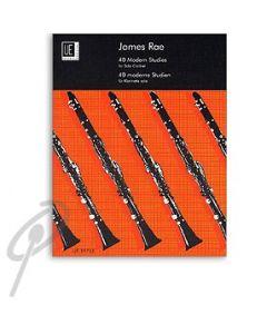 Modern Studies, 40 for Clarinet