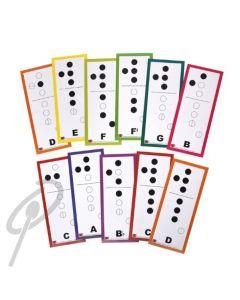 RBI Recorder Fingering Magnets Set 11