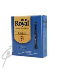 Rico Royal Reeds-Bb Clarinet,Grade 2.5