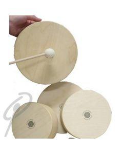 Rohema Wood Hand Drum - 6inch with Felt Mallet