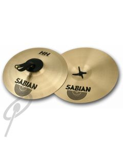 "Sabian 18"" New Symphonic Hand Cymbals Medium Light"