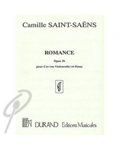 Romance Op.36 for Horn and Piano
