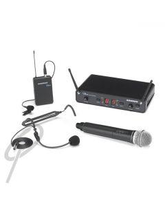 Samson Concert 88 Dual wireless mic sys