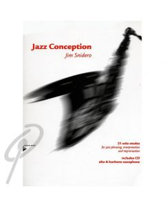 Jazz Conception for Alto/Baritone Saxophone with CD