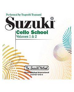 Suzuki Cello School CD ( 1 + 2 )