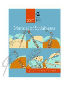 AMEB Manual of Syllabuses 2017