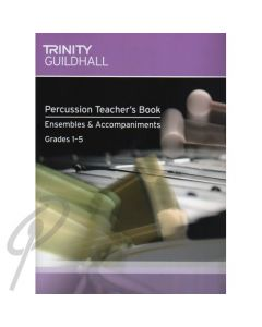 Percussion Teacher's Book Ensembles & Accompaniments with CD