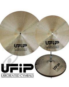 "UFIP Class 14,16,20"" Cymbal Set w/bag"