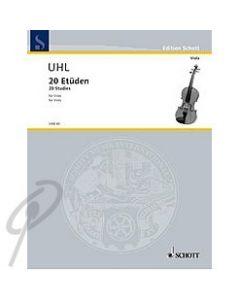 30 Etudes for Viola