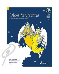 Oboes for Christmas with CD Accompaniment