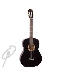 Valencia 4/4 Size Classical Guitar Black