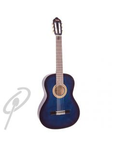 Valencia 3/4 Size Classical Guitar Blue