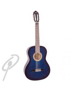 Valencia 4/4 Size Classical Guitar Blue