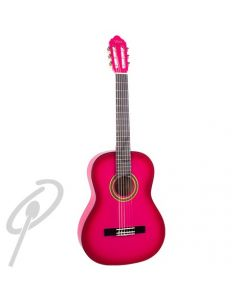Valencia 4/4 Size Classical Guitar Pink