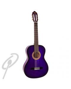 Valencia 3/4 Size Classical Guitar Purple