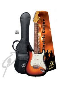 Essex 3/4 Electric Guitar Vintage Black
