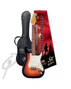 Essex Vintage Style Electric Guitar Blk