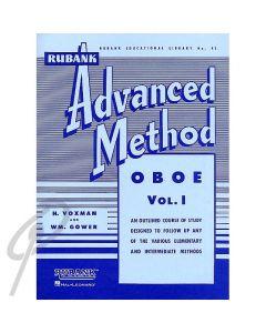 Rubank Advanced Method for Oboe book 1