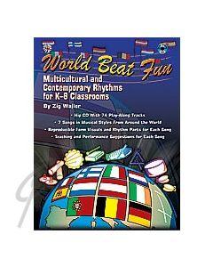 World Beat Fun  - Book with CD