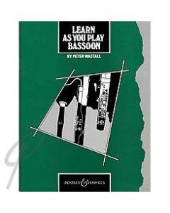 Learn As You Play Bassoon