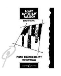 Learn as you Play Bassoon - Piano accompaniment