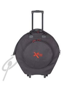 """Xtreme 22"""" Cymbal Bag with wheels"""