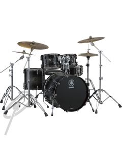 Yamaha Live Custom Oak 22,10,12,16 Black Shadow