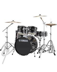 Yamaha Rydeen 20,10,12,14 Drum Kit Black Glitter