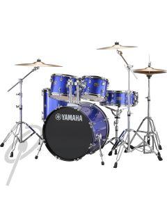 Yamaha Rydeen 20,10,12,14 Drum Kit Fine Blue