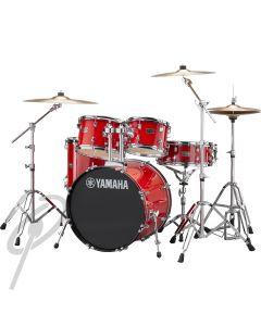 Yamaha Rydeen 20,10,12,14 Drum Kit Hot Red