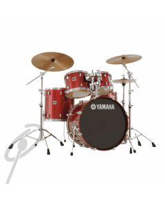 "Yamaha Stage Custom 22"", 10/12/16"" Fusion kit - Cranberry Red"