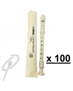 Yamaha Descant Recorder YRS24B-Set of100