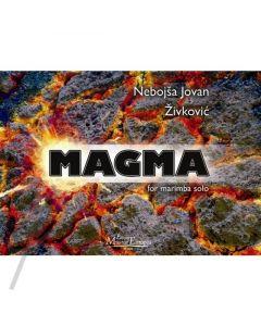Magma for marimba solo