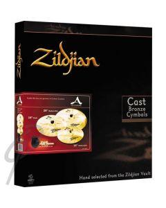 "Zildjian A Custom Pack with BONUS 18"" thin crash!"