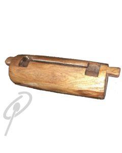African Rhythms Log Drum - 55 x 20cm with Stick