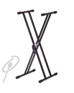 AMS Double Braced Keyboard stand w/hdle