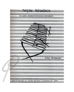 Style Studies For Mallet - Keyboard Instrument