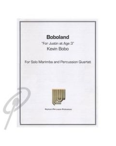 Boboland - solo Marimba + quartet