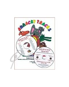 BWhacky Tracks Package (Book/CD/DVD)