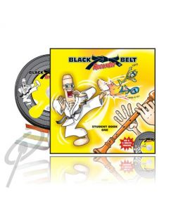 Black Belt Recorder Student Book 1 with CD