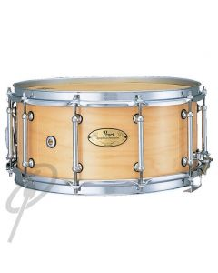 """Pearl 14 x 6.5"""" Concert Maple Snare Drum Natural"""