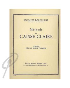 Methode for Snare Drum/Caisse-Claire*