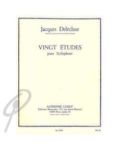 Twenty Studies for Xylophone