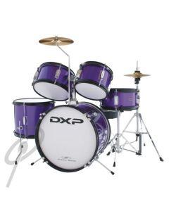 DXP Junior Drum Kit 5-piece Purple Sparkle