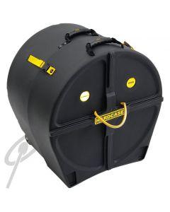 "Hardcase 20"" Bass Drum Case w/wheels"