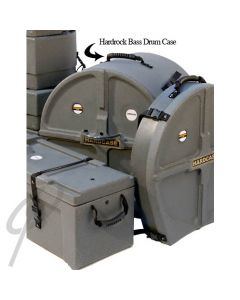 """Hardcase 22"""" bass drum case lined graph"""